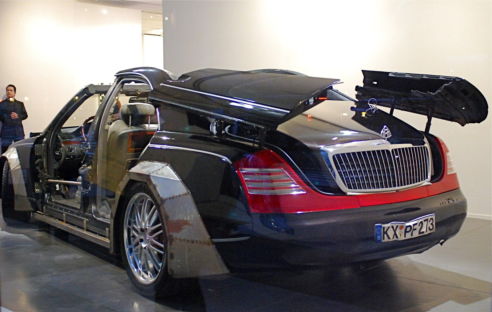U p for auction at the phillips de pury company at 450 park avenue is the customized 2004 maybach 57 that was used in jay z and kanye we