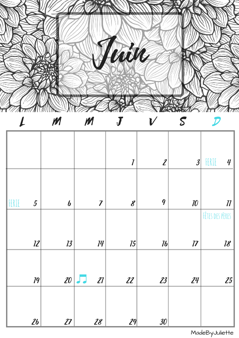 Result Calendar June : Image result for june calendar madebyjuliette my style