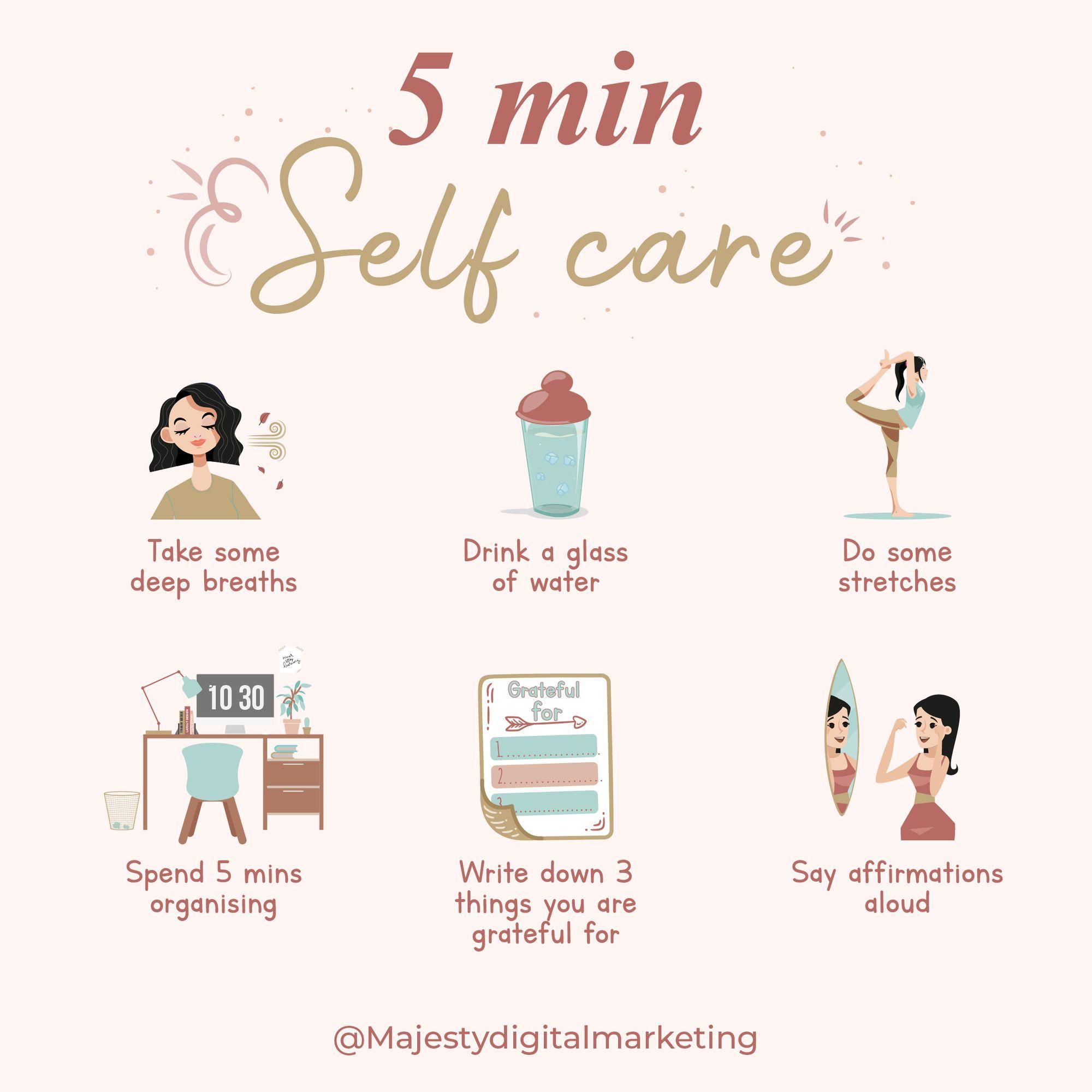 Self care in 2020 Social media business, Digital