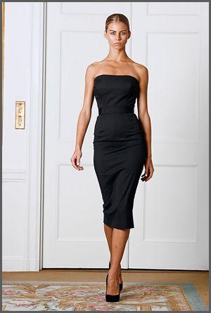 Victoria Beckham Spring 2009 Dress Collection