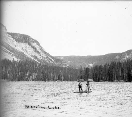 Marvine Lake, Ca. 1900-10 :: History Colorado