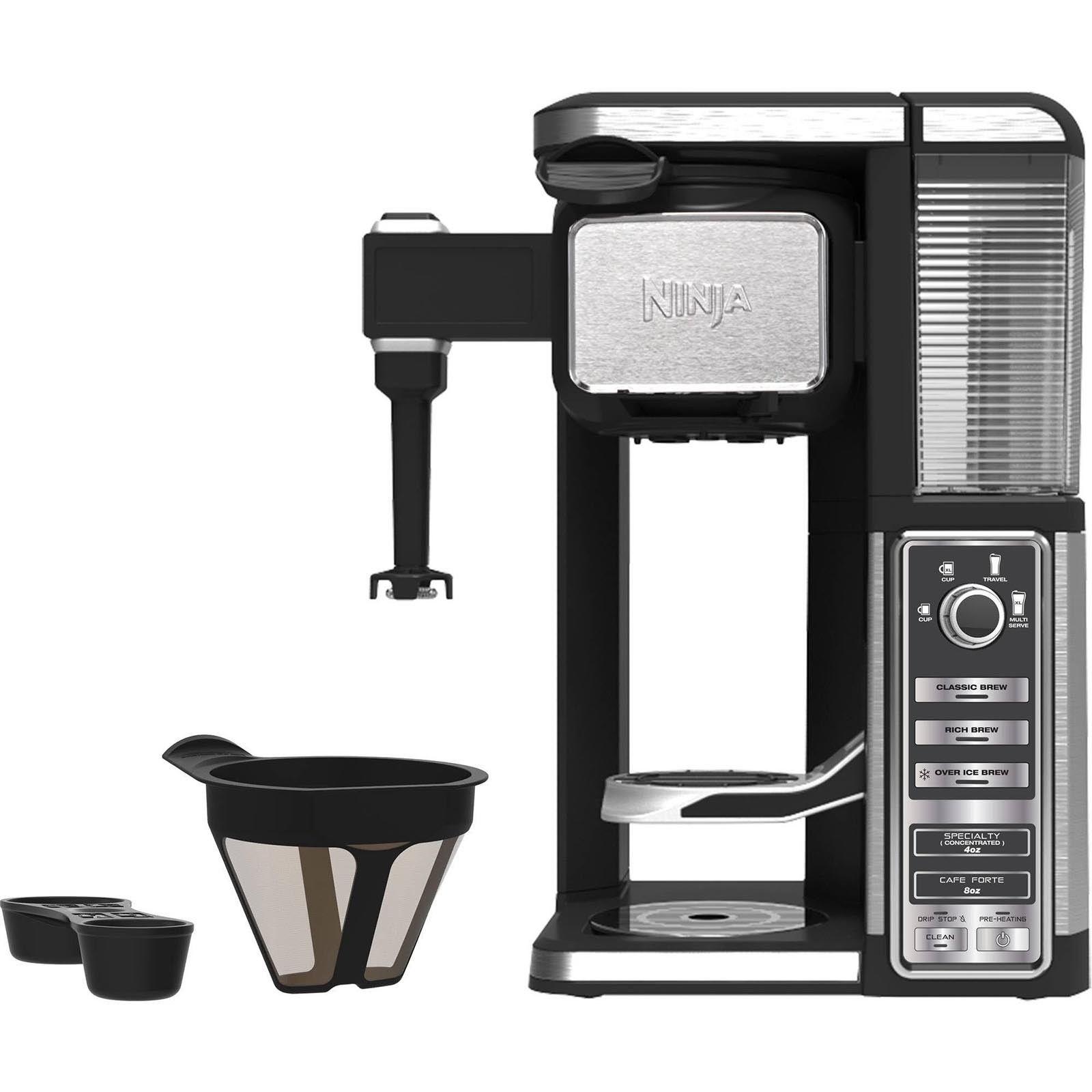 Details About Ninja Single Serve Pod Free Coffee Bar
