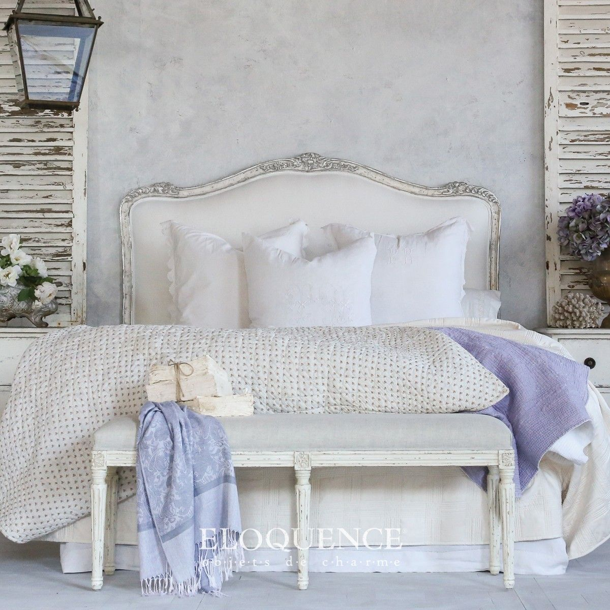 French Country Bedrooms Shabby