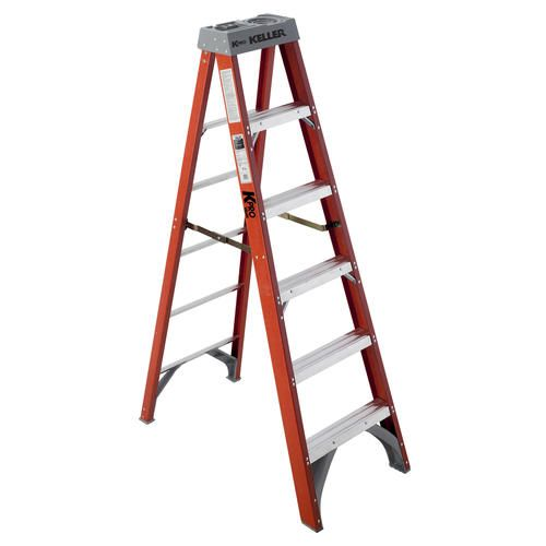Kpro 976 6 Type Ia Fiberglass Step Ladder Step Ladders Ladder Fiberglass