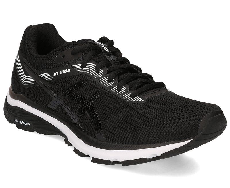 ASICS Women's GT-1000 7 Shoe - Black/White | Black shoes ...