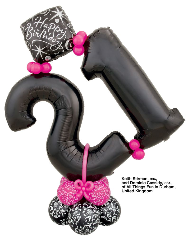Birthday business booster balloon gift bouquets