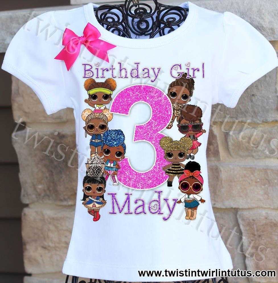 Pin On Girls Birthday Shirts