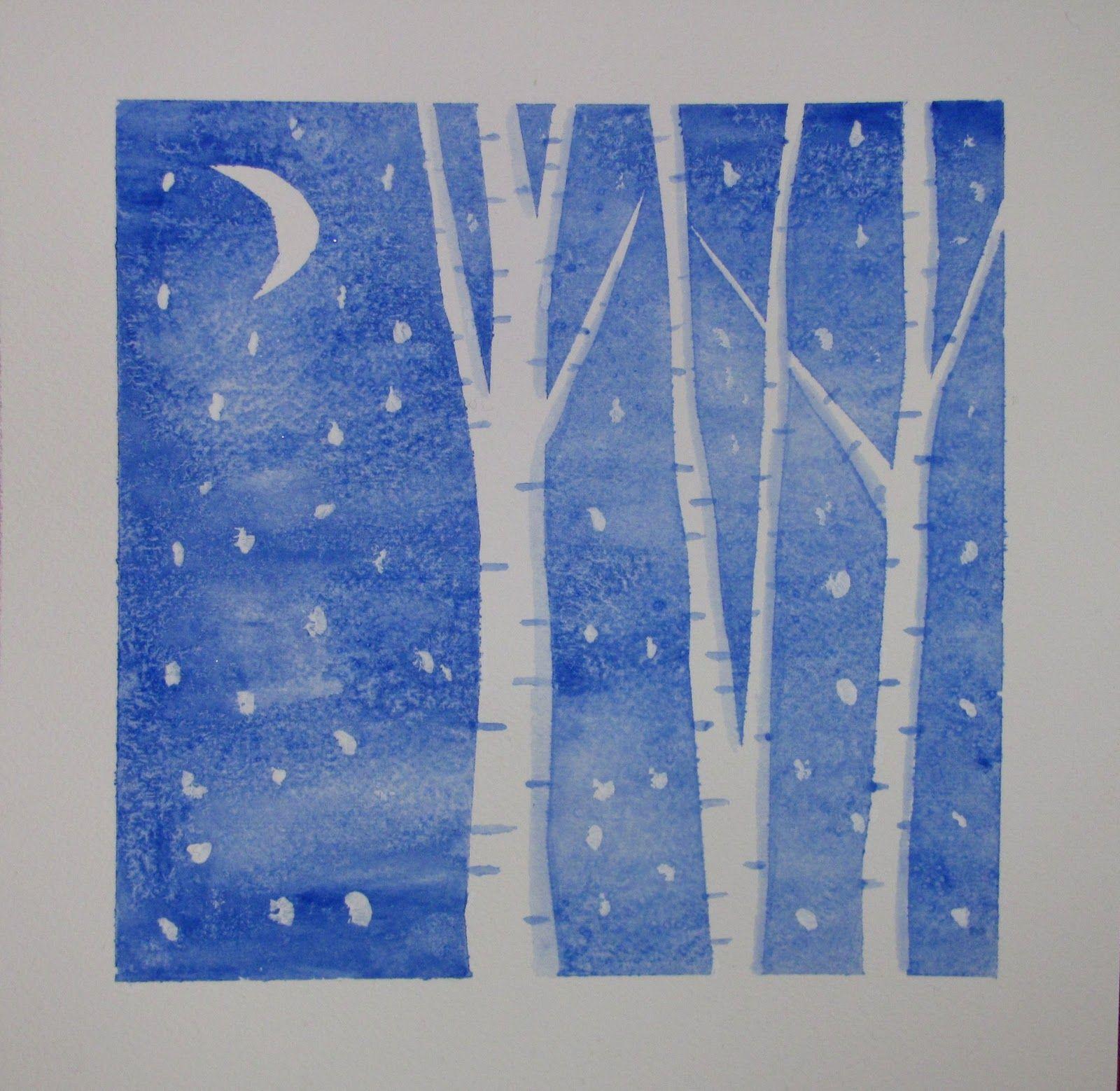 Lost Persons Homeschool: Winter Art