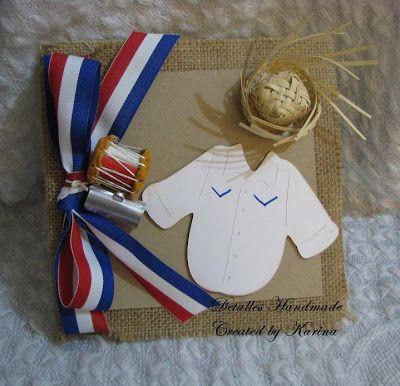estas invitaciones para una fiesta típica dominicana, un cumpleaños