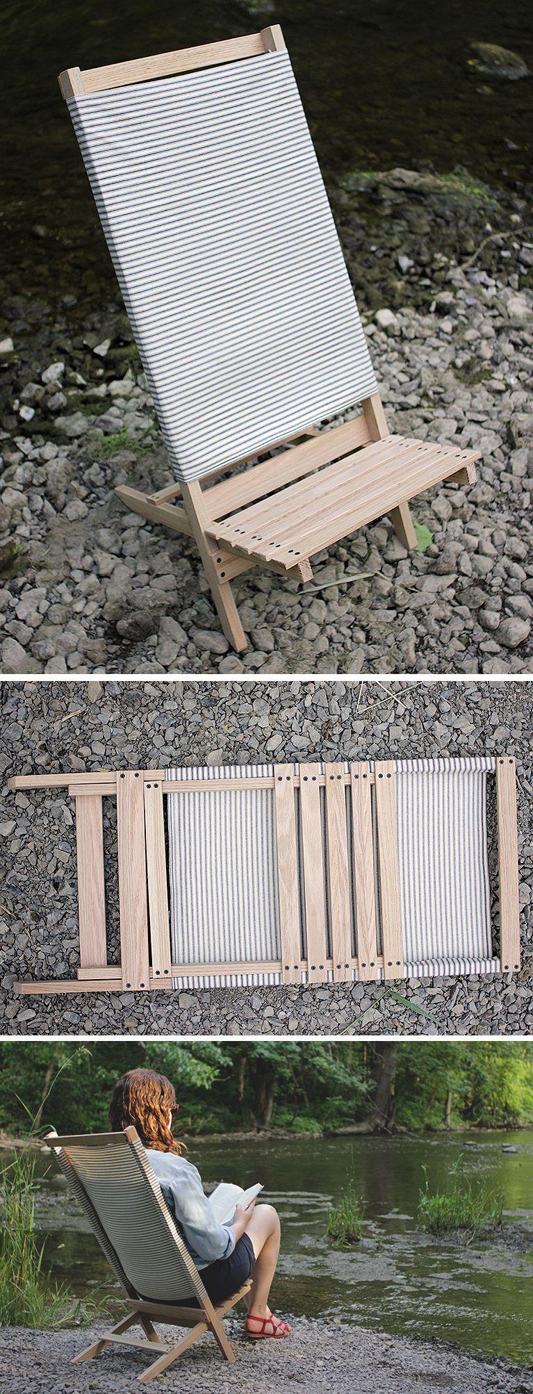 Diy Wooden Camp Beach Chair Diy Crafts Wooden Diy
