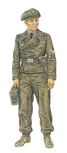 Hermann Goering division -Sargento, Panzerspähzug, Austria, 1938. Pin by Paolo Marzioli