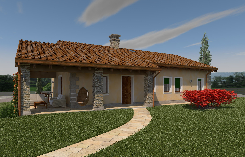 Progetti di villette singole progetti ville moderne with Le case moderne