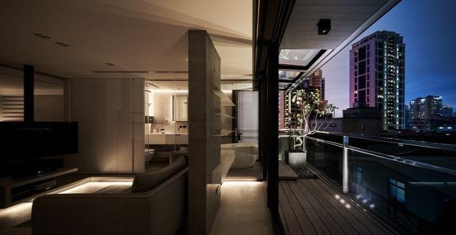 Álomotthonok- Egy apró, mégis tágas minimalista lakás ...