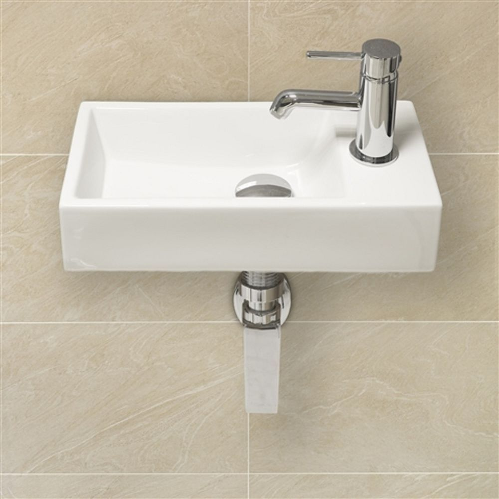 Bathroom Sinks On Ebay modern design small slimline right hand square clockroom basin