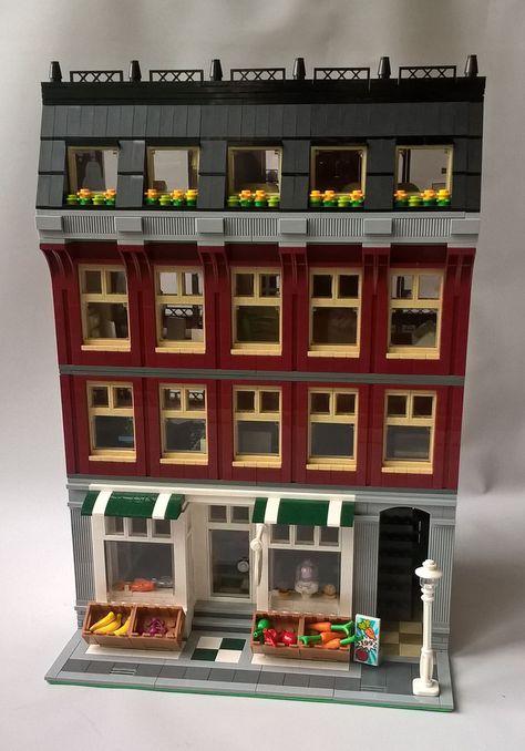 Fresh A Lego Grocery Store Lego Buildings Pinterest Legos