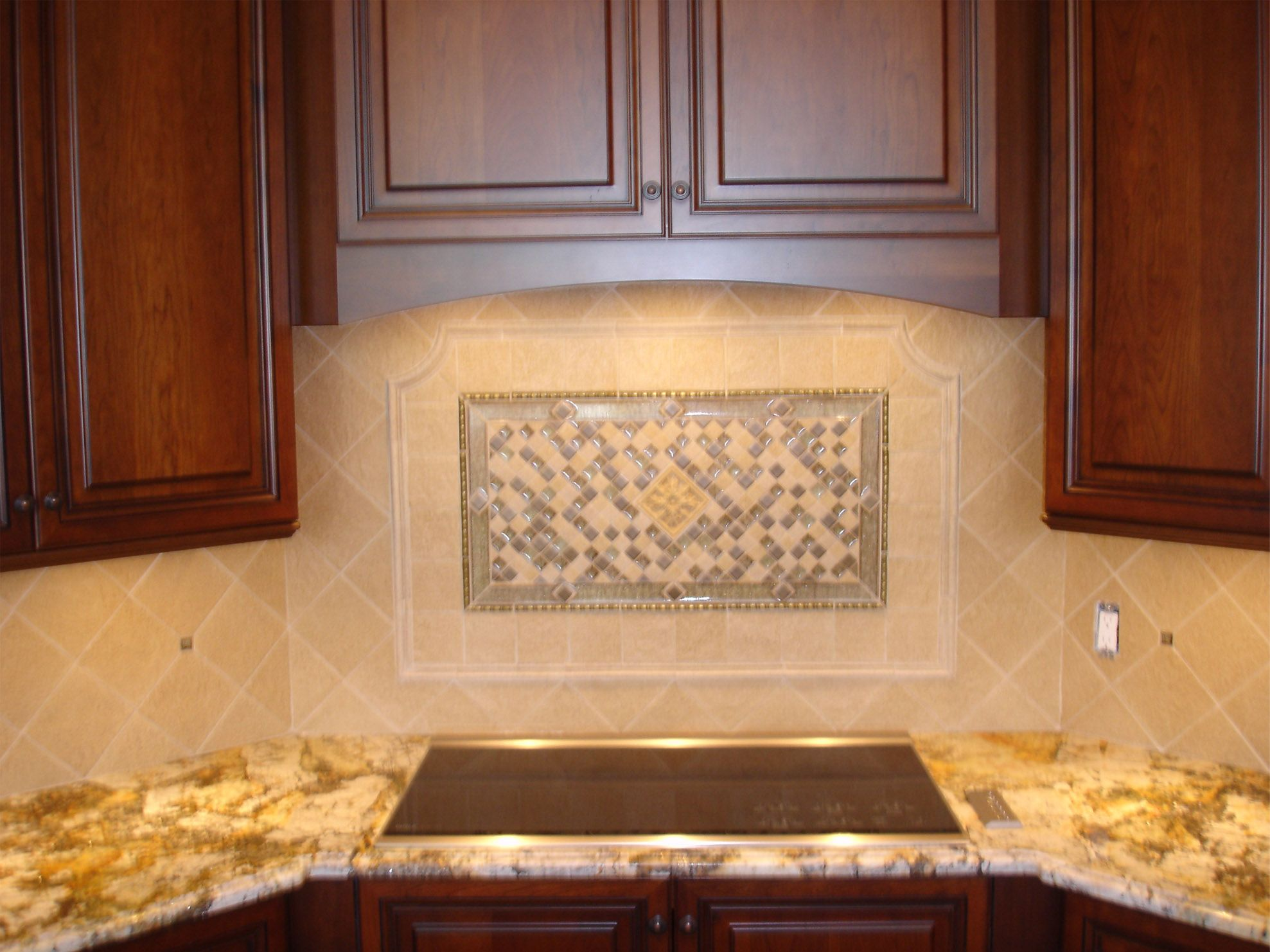 Hand Crafted Porcelain and Glass Backsplash Tile Design Kitchen. Backsplash Ideas For Kitchen With White Cabinets. Picture Of Kitchen Travertine Backsplash with White Cabinets And. Smoke Glass Subway Tile Kitchen Ideas Kitchen and Kitchen Remodel