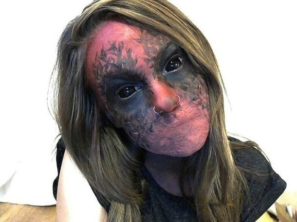 50 Scary Halloween Makeup Costume Ideas to Try Scary halloween - terrifying halloween costume ideas