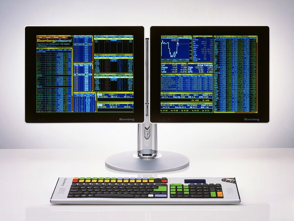 Bloomberg Displays and Keyboards by Antenna Design New