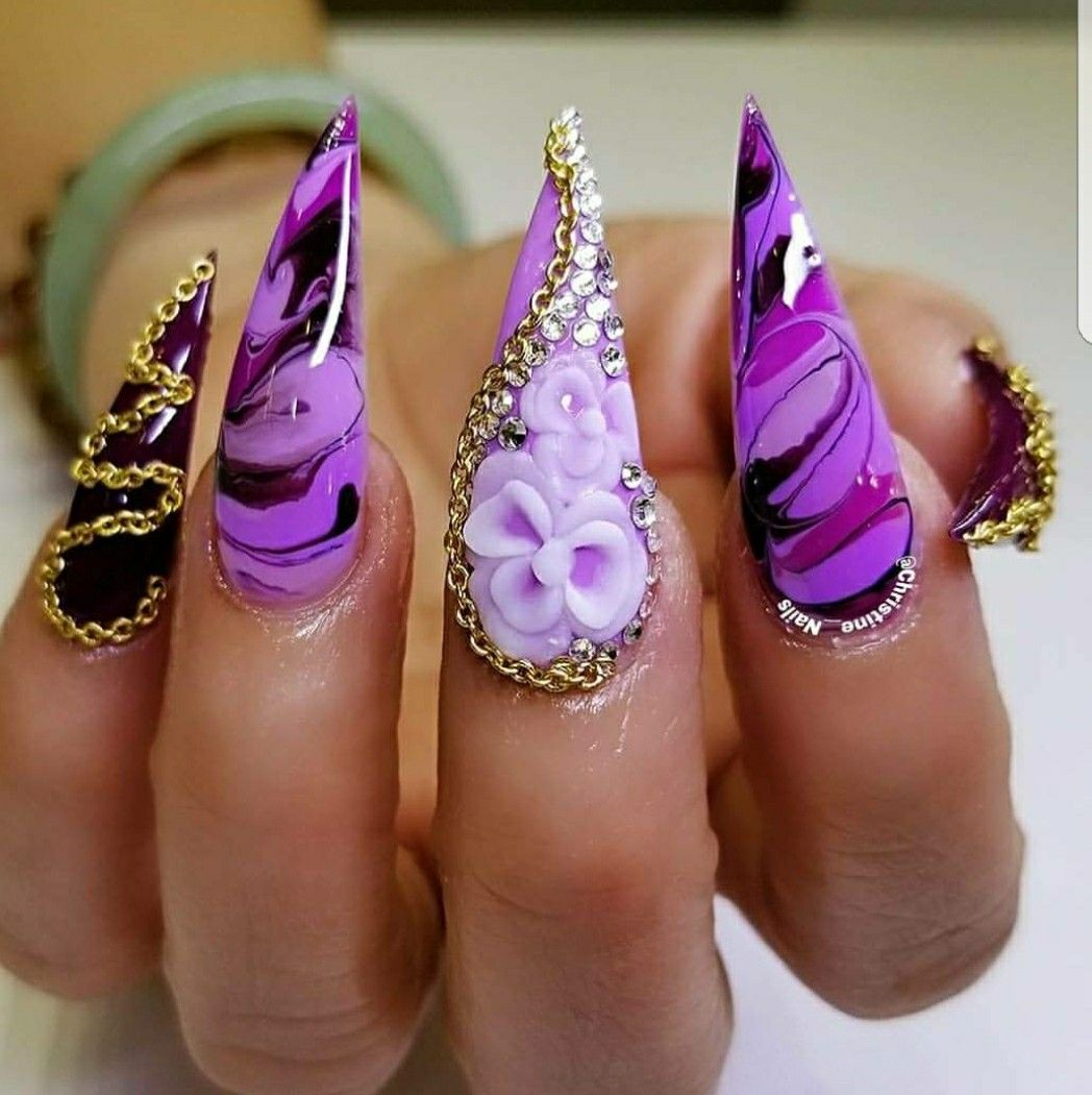 Pin by Latisha on CLAWS | Pinterest | Acrylic nail art, Fabulous ...