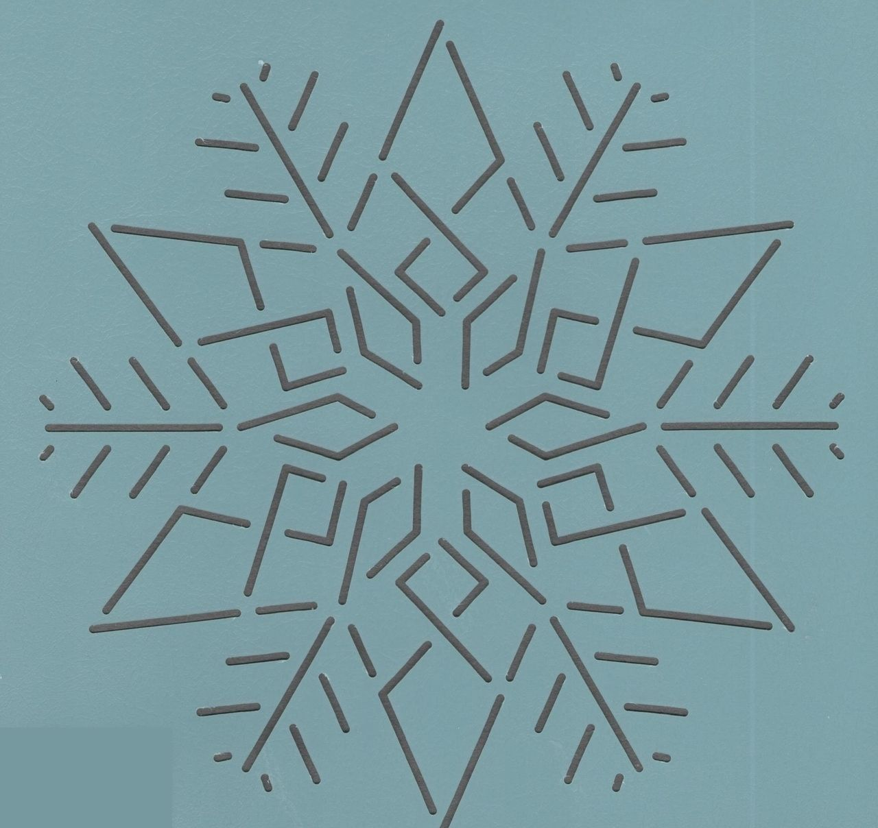 Snowflake #4- 3  | Quilting stencils and Stenciling : snowflake quilting stencil - Adamdwight.com