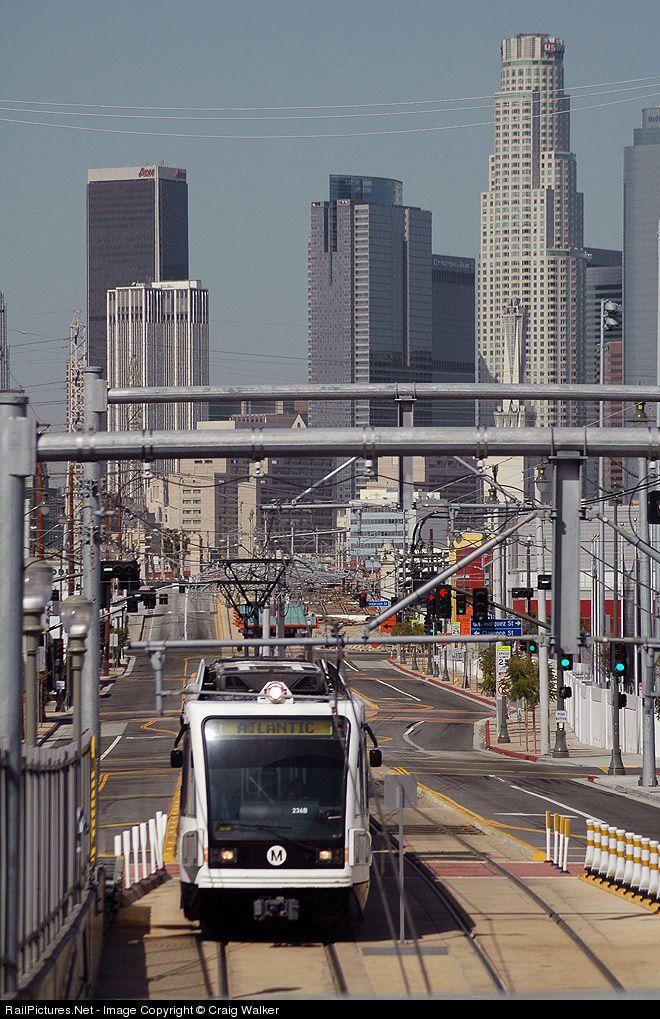 Lacmta 234 Los Angeles Metropolitan Transit Authority Lamta Ansaldobreda P2550 At Los Angeles California By Craig Walker Light Rail Subway Train Train