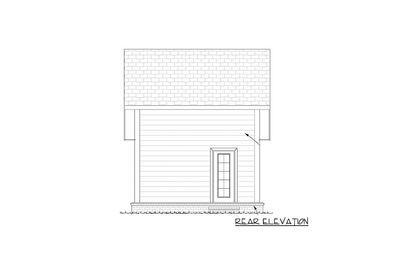 Plan 52284wm Tiny Cottage Or Guest Quarters Cottage
