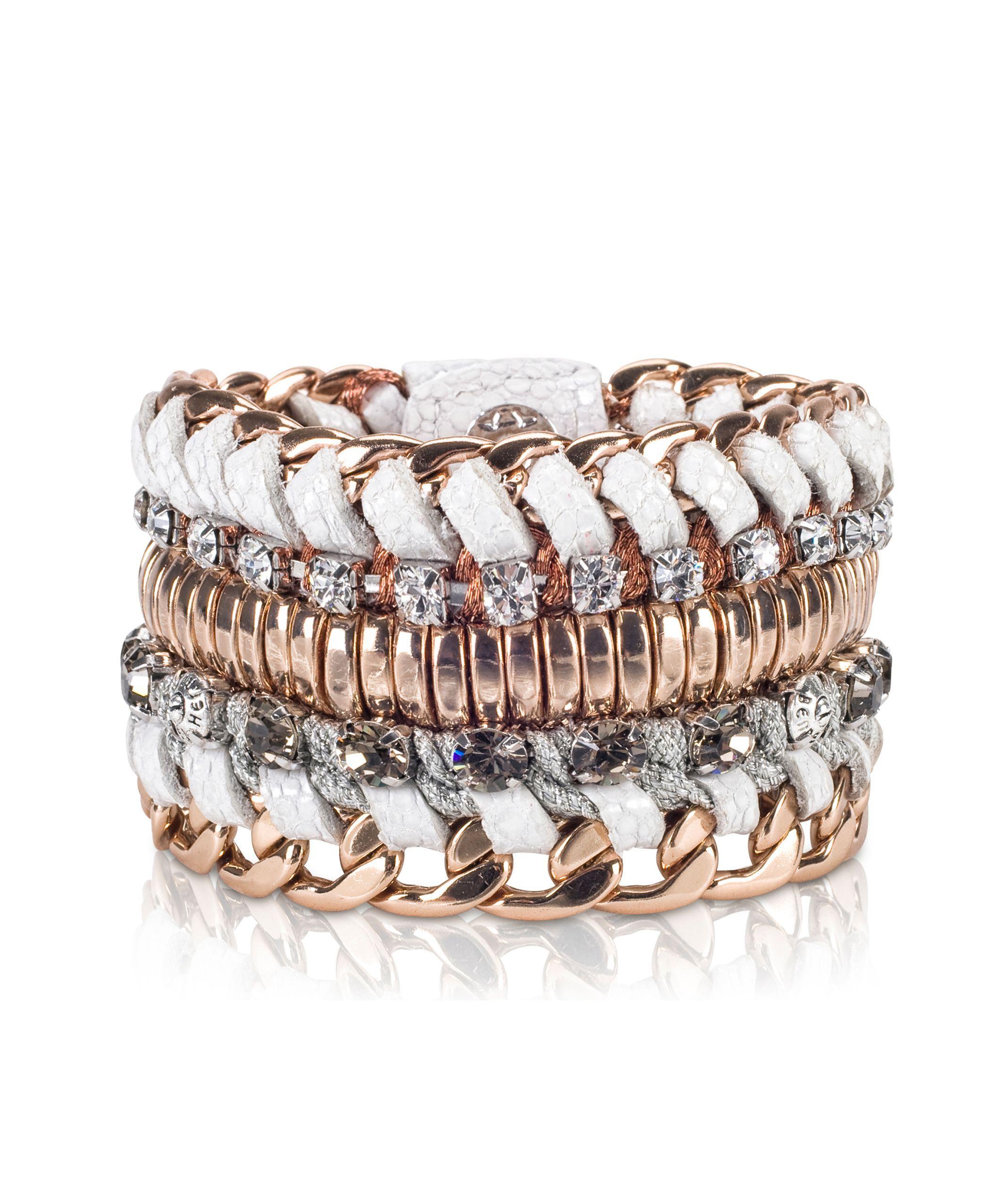 Deluxe Girlfriend Beaded Wrap Bracelet Jewelry Henri Bendel