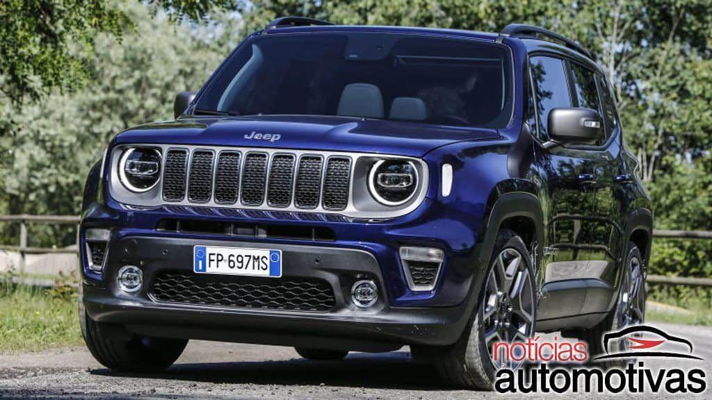Jeep Renegade 2019 Tem Primeiras Imagens Reveladas Na Internet
