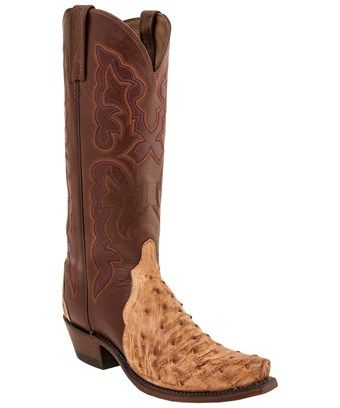 Lucchese Bootmaker Rex 7 Toe Cowboy Boot(Men's) -Brandy Alligator Free Shipping Exclusive Visit New Cheap Online Outlet Buy 1kHKh