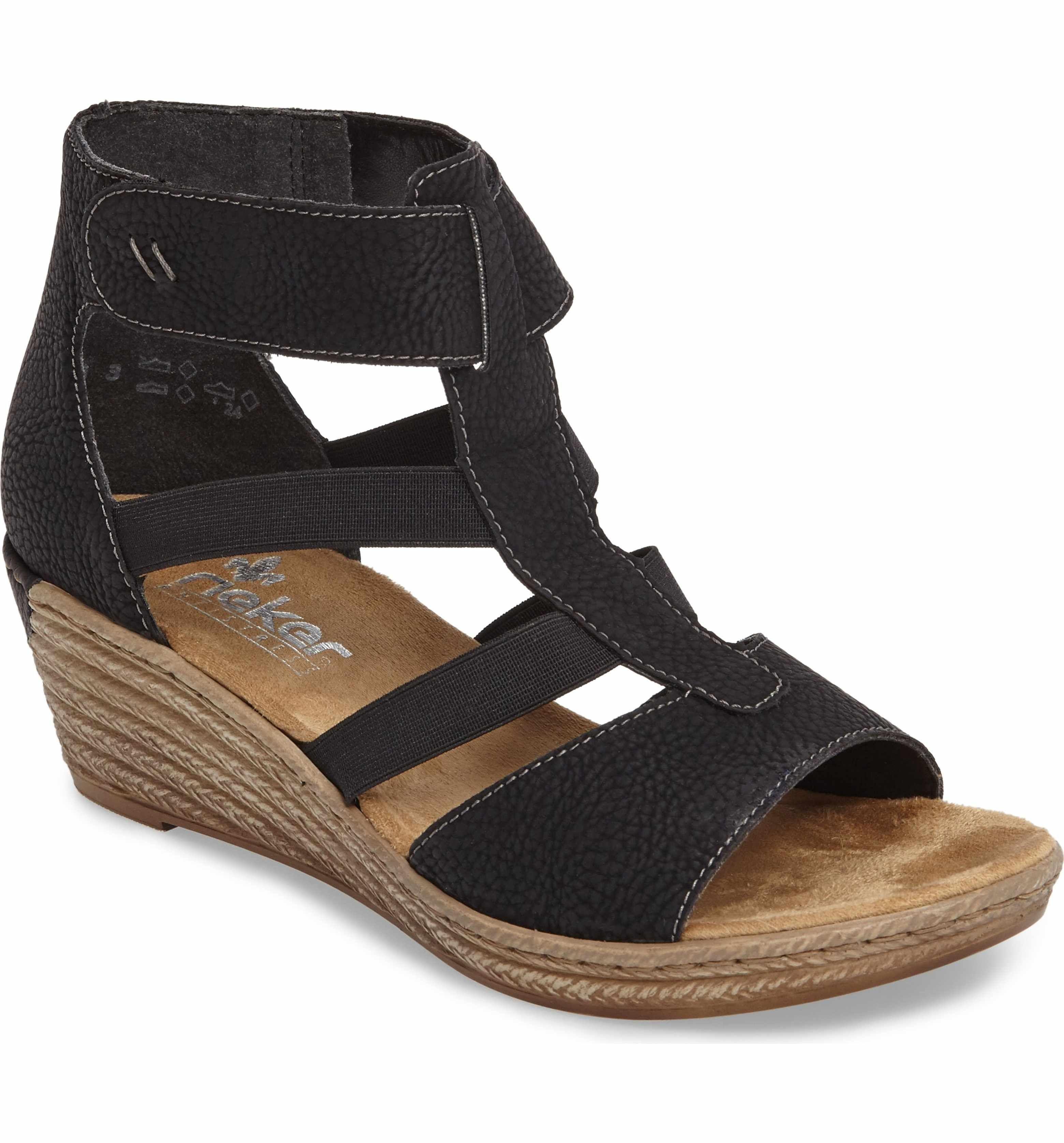 88cf45557ae Main Image - Rieker Antistress Fanni 39 Wedge Sandal (Women)   Shoes ...