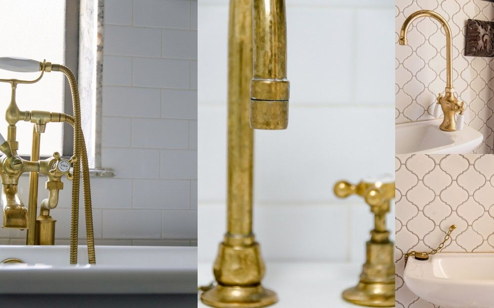 Unlacquered Brass Faucet Google Search Bathroom Break - Unlacquered brass bathroom faucet for bathroom decor ideas