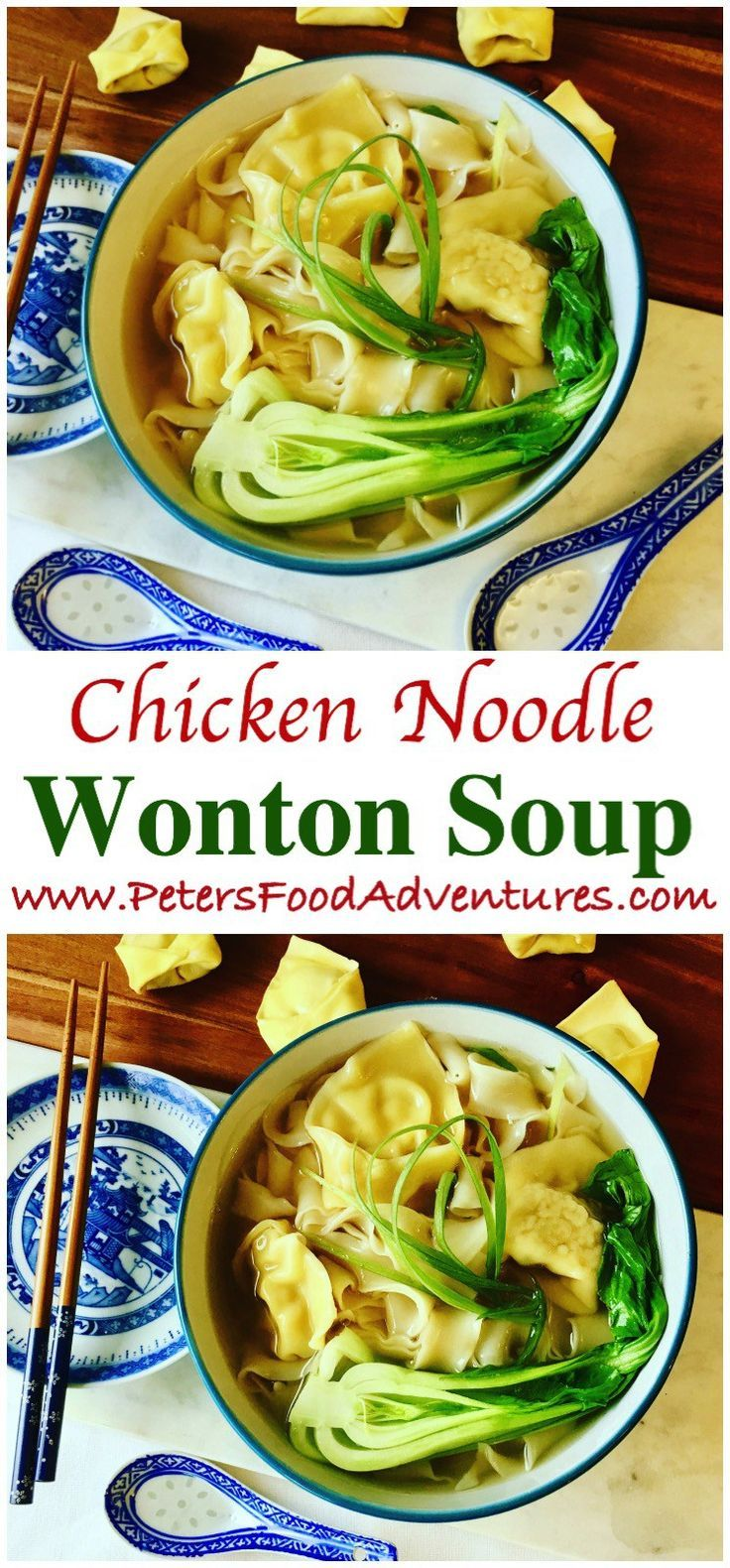 Wonton Noodle Soup   Recipe   Healthy soup recipes, Wonton ...