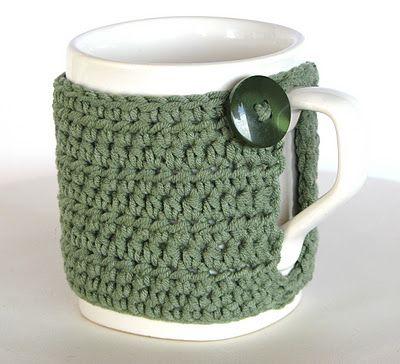 Lady Crochet: Mug cozies | Tazas | Pinterest | Tejido, Accesorios de ...