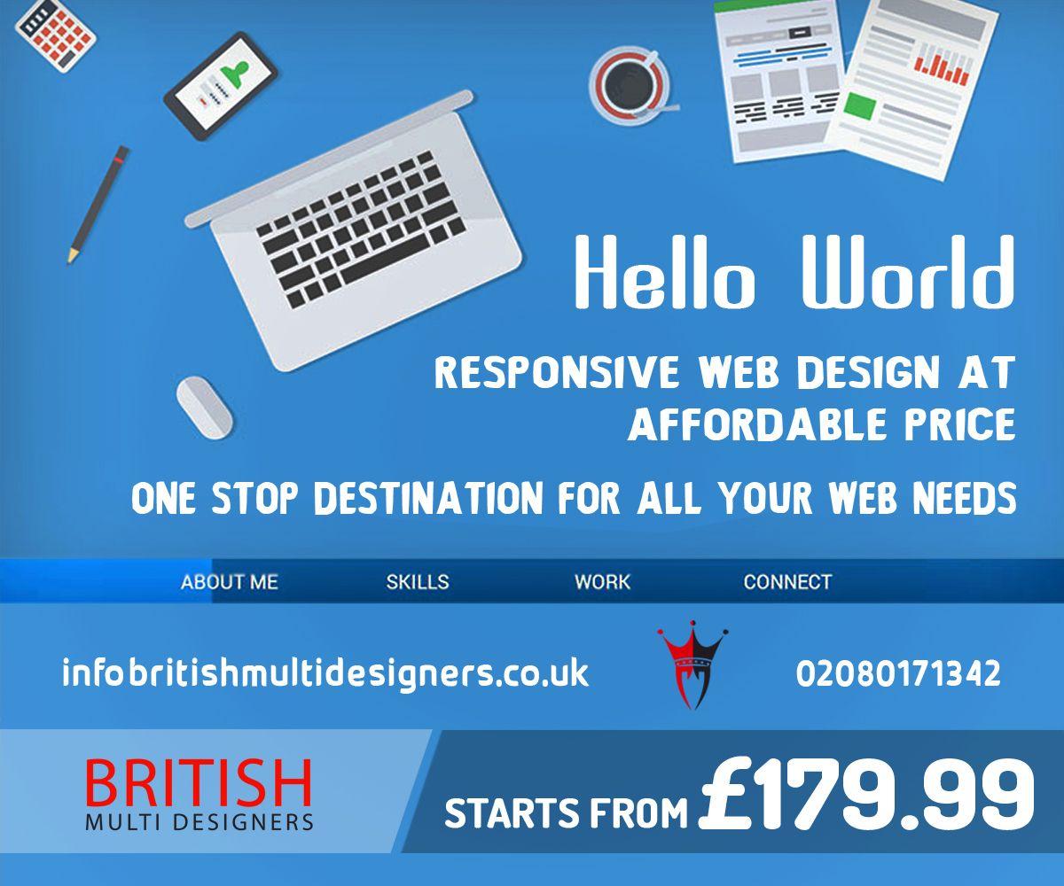 Top Web Design Company Uk Fun Website Design Web Design Responsive Website Design