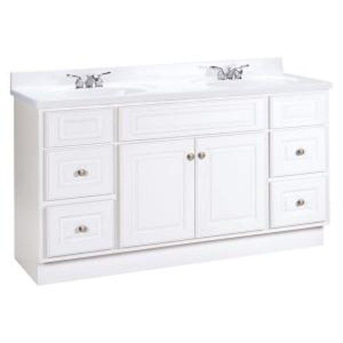 American Classics By RSI HWH60DY Hampton 60 Inch Vanity Cabinet Only, White  By American Classics By RSI. $399.00. From The Manufacturer This American  ...