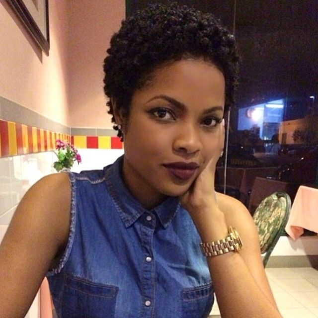 How to make curls on short natural african hair