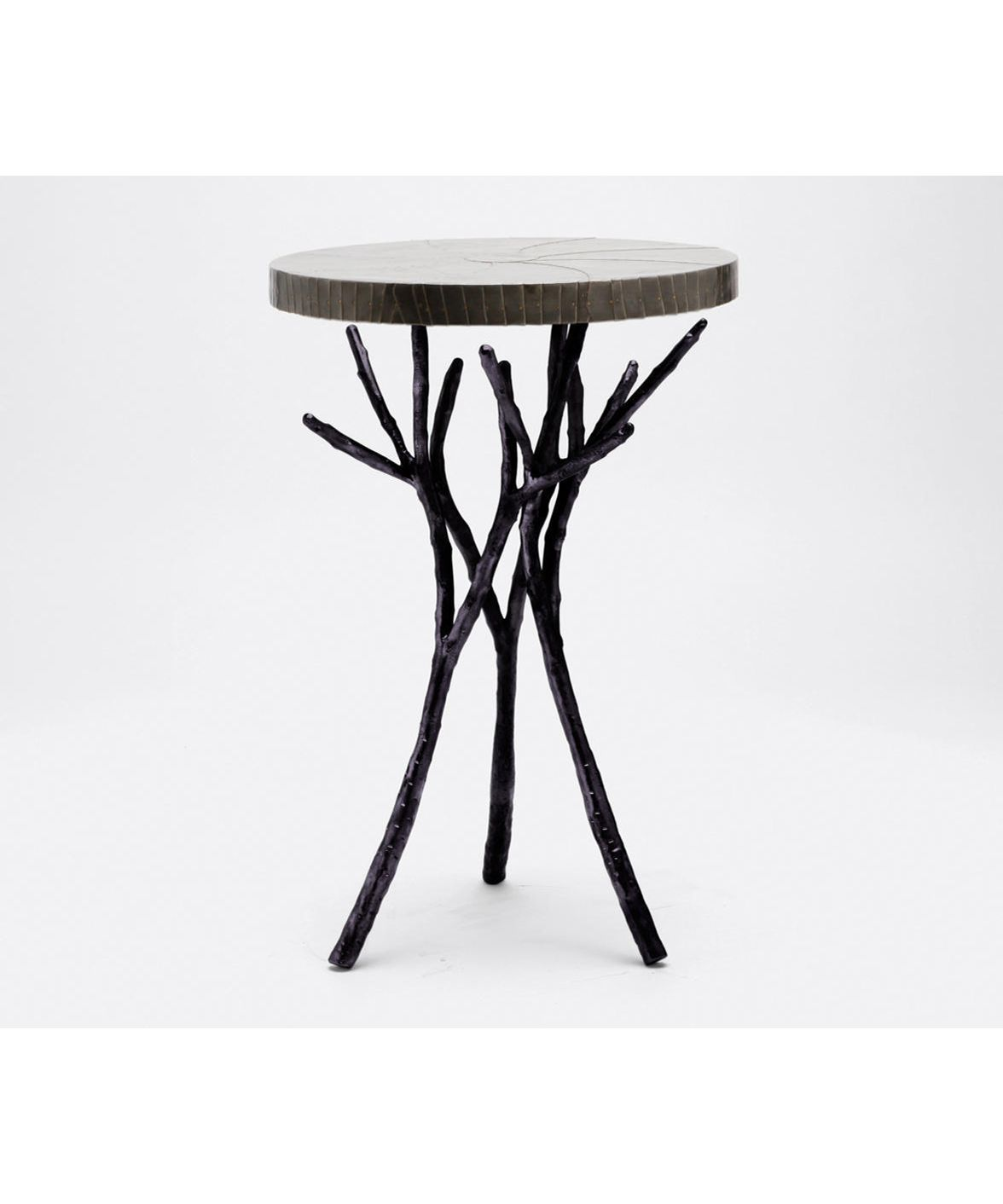 Twig Branch Side Table Black 1