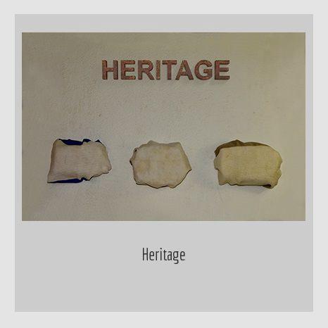 Heritage. YENY CASANUEVA Y ALEJANDRO GONZÁLEZ. PROYECTO PROCESUAL ART.