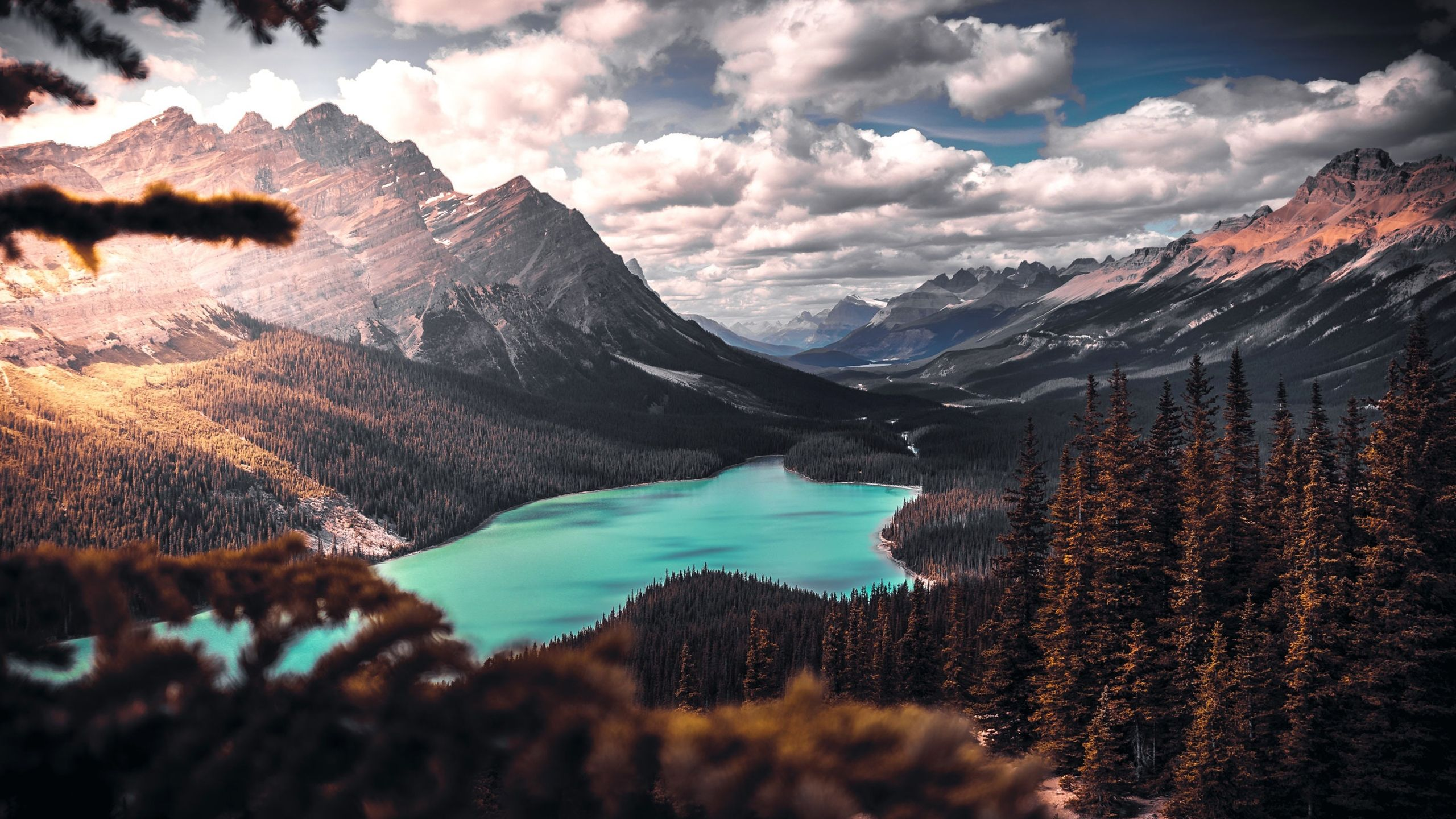 Lake Mountain Trees Clouds Scenic Scenic Wallpaper Scenic Landscape Landscape Wallpaper