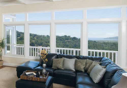 Large Renewal By Andersen Picture Windows Beautifully Frame An Amazing View