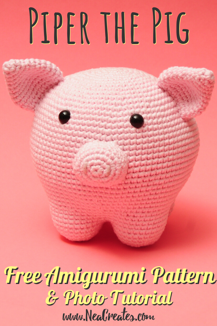 Piper the Pig: Free Amigurumi Pattern - Nea Creates