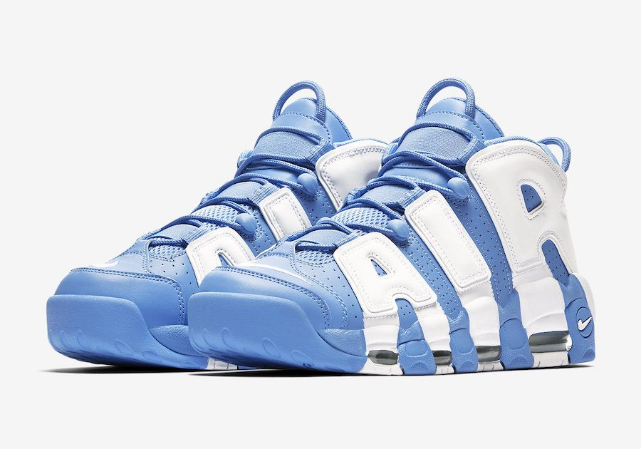 9031962f00 The Nike Air More Uptempo University Blue release date is set for September  2017. This Nike Air More Uptempo comes dressed in University Blue and White.