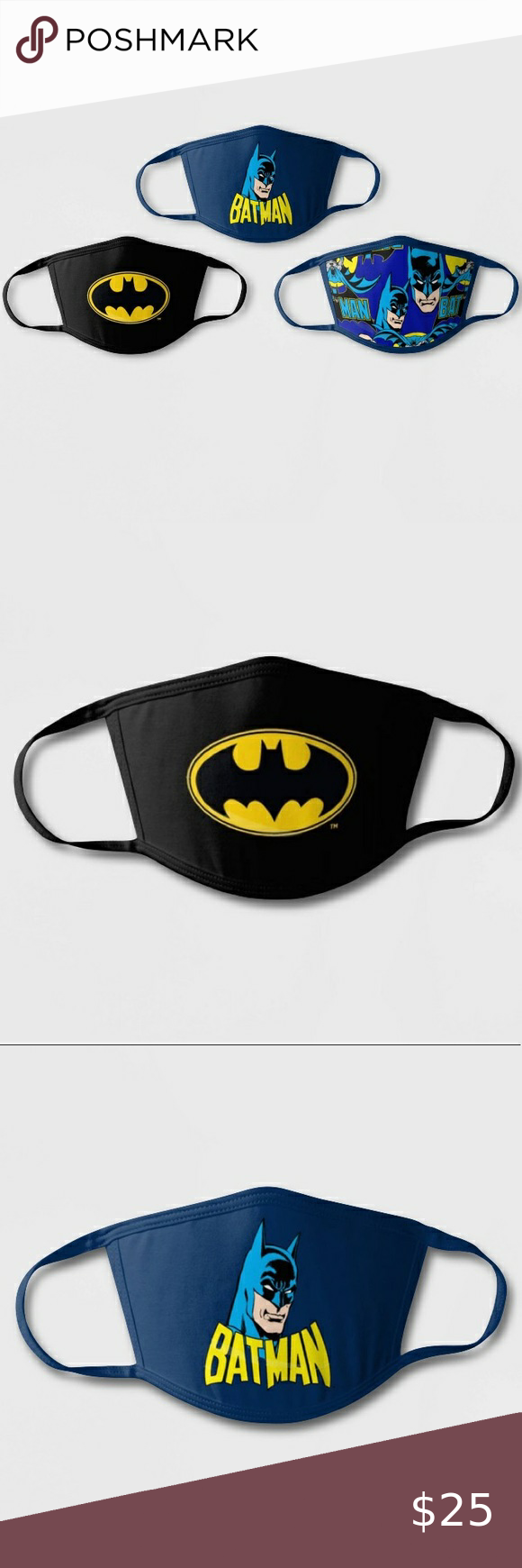 New Kids Batman Face Masks Cover Batman Kids New Kids Face Mask