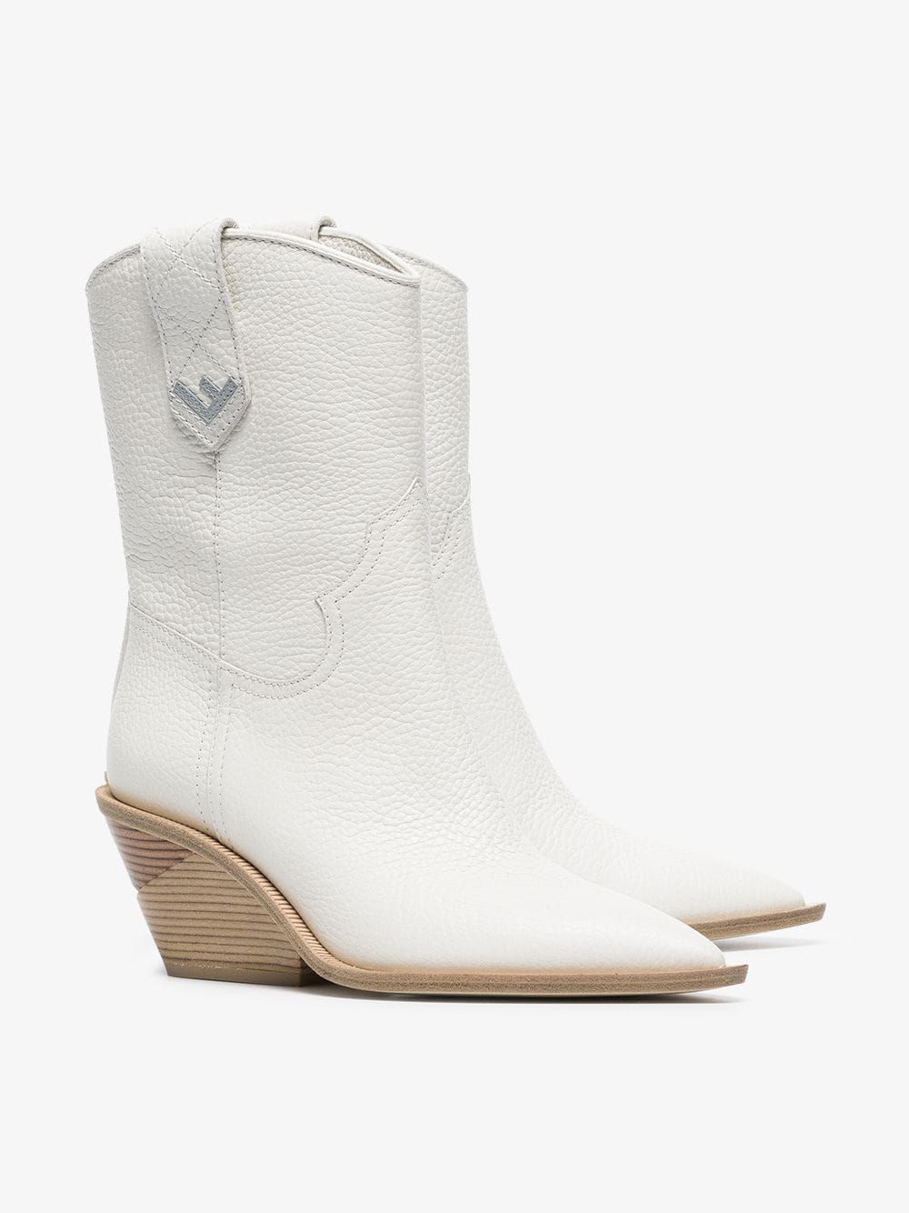 795b576476 White Cutwalk 60 Leather Boots | A heels 1 shoes women | Leather ...