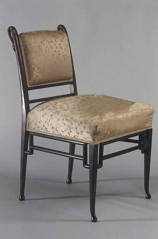 Chair, Attributed To Herter Brothers, Ca. 1880, New York