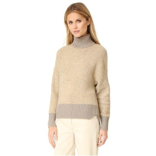 3.1 Phillip Lim Turtleneck Cocoon Pullover (2,155 SAR) ❤ liked on ...