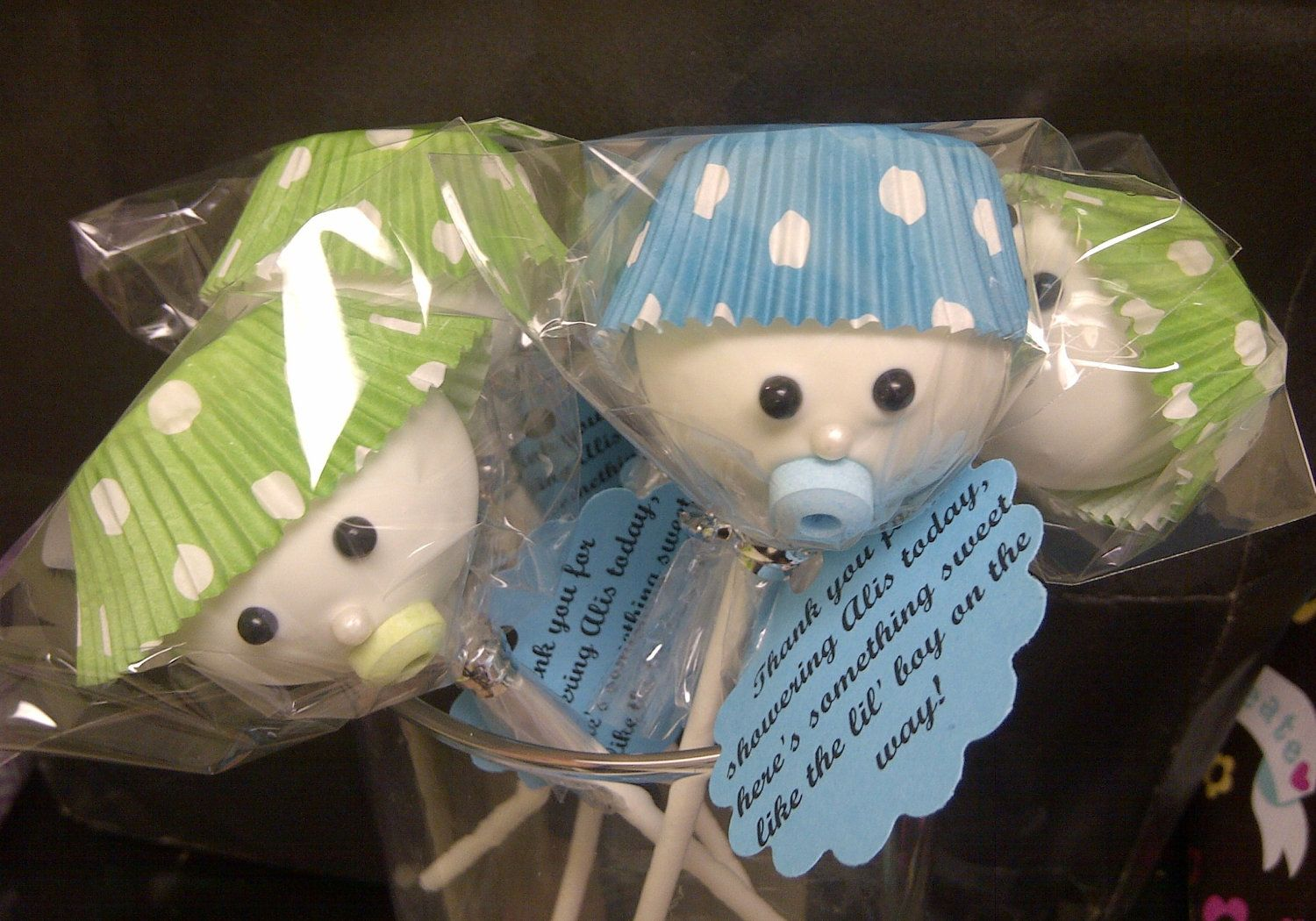 Baby Shower Cake Pops How Cute And Easy Cake Pops With