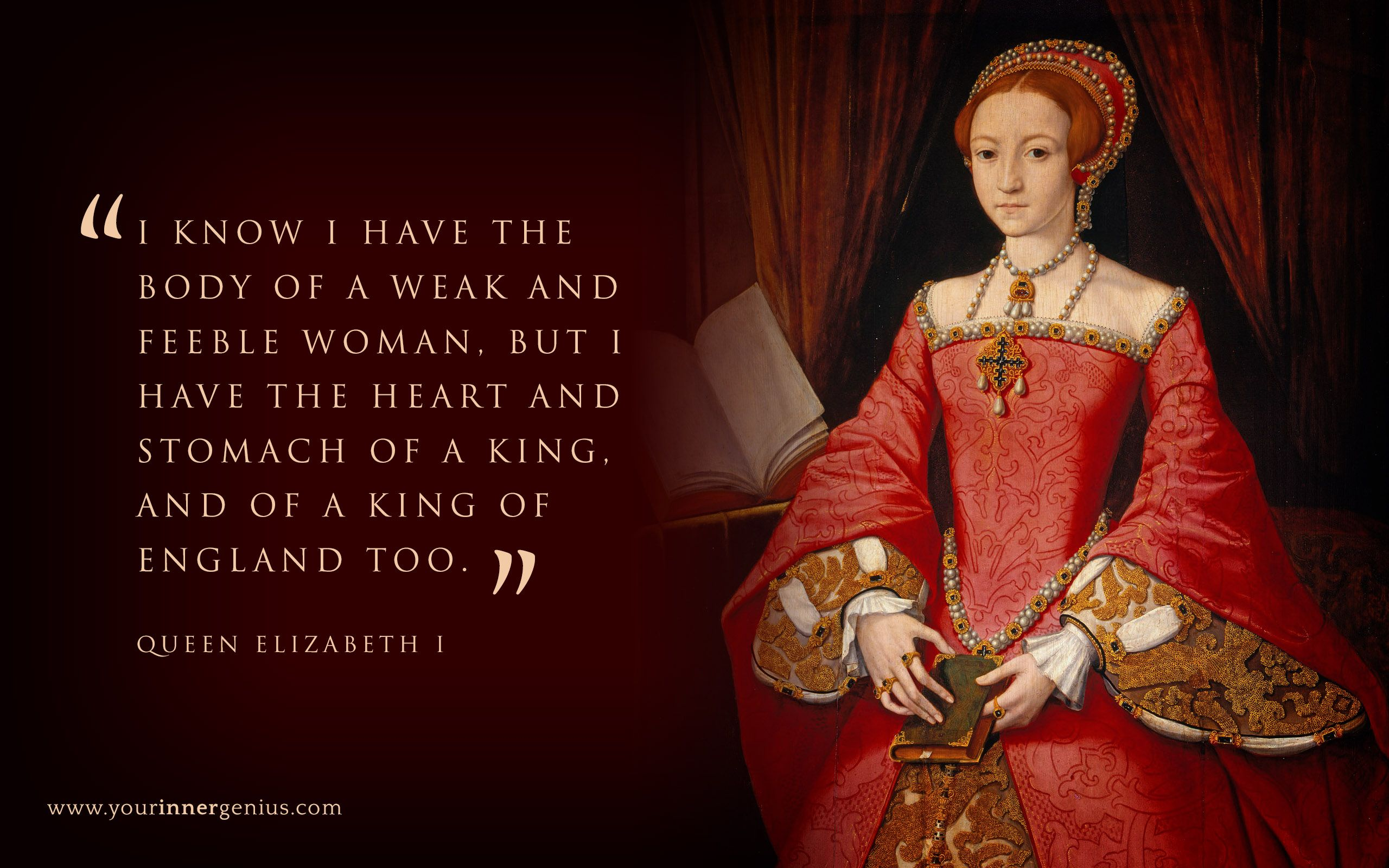 the life and reign of queen elizabeth i of england Queen elizabeth i - tudor queen elizabeth tudor is considered by many to be  the  during her brother edward's reign, she lived the life of a wealthy and.