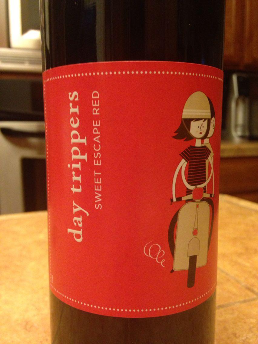 Sweet Escape Red Sweetest Day Sweet Escape Wine Bottle