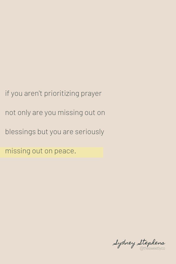 My Method For Intentional Prayer